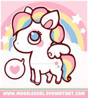 Baby Rainbow Pegasus