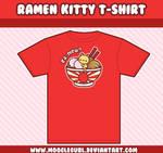 Ramen Kitty T-Shirt