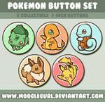 Pokemon Button Set