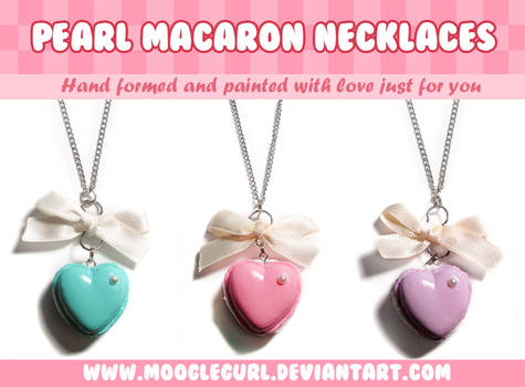 Pearl Macaron Necklaces
