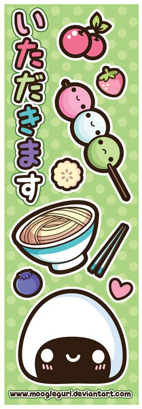 Let's Eat - Bookmark
