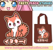 Inukii Tote Bag Design by MoogleGurl