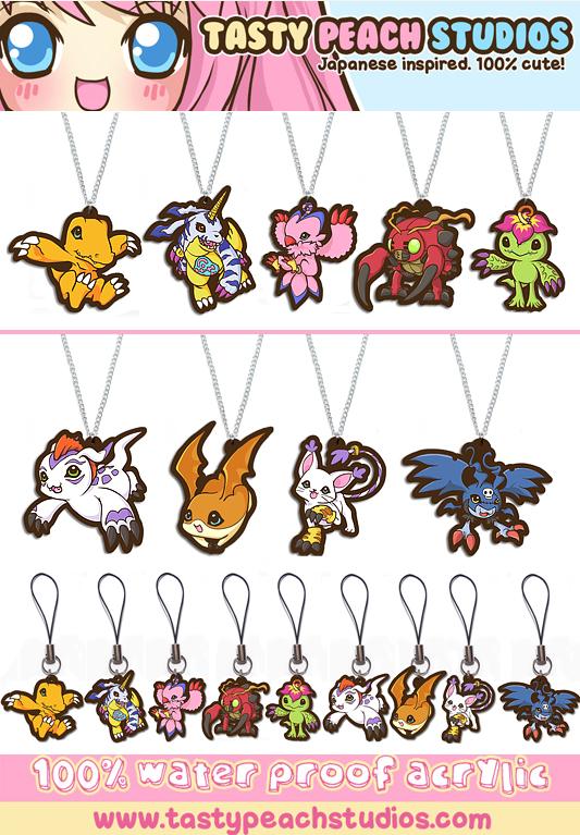 Porte-clefs Digimon_acrylic_goodies_by_mooglegurl-d4g7ajs