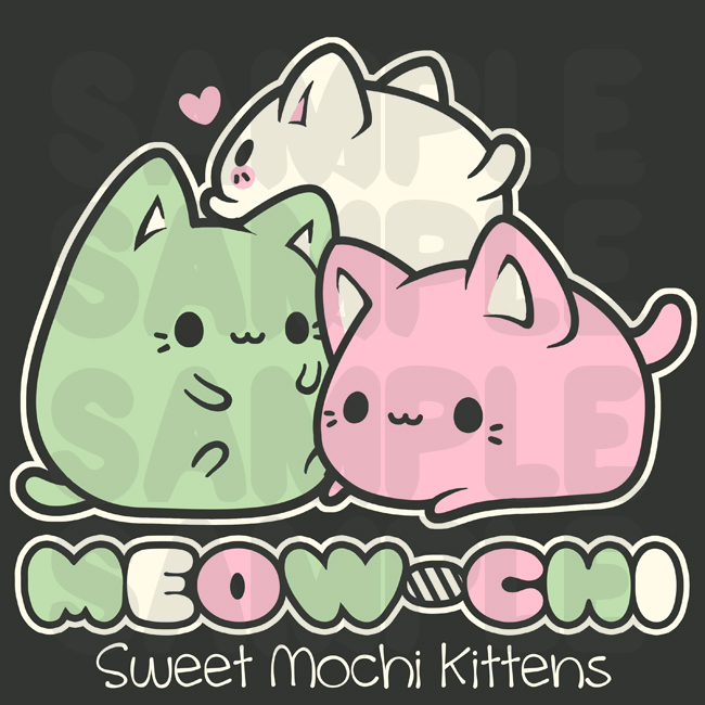Meowchi Friends by MoogleGurl