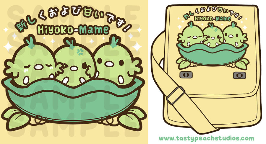 TPS: Hiyoko-Mame Messenger Bag by MoogleGurl