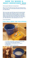 How to Wash a Heat Resistant Wig