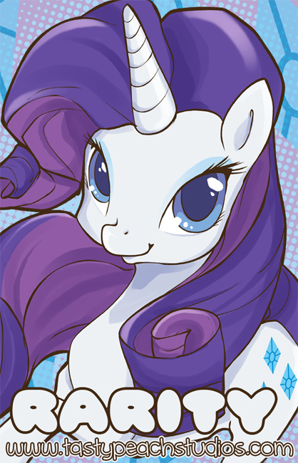 MLP: Rarity by MoogleGurl