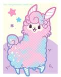 TPS: Kyandi the Cotton Candy Llama