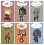 Chibi Guardians of the Galaxy