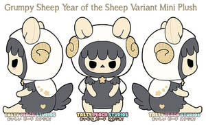 TPS: Year of the Sheep - Grumpy Sheep Mini Plush