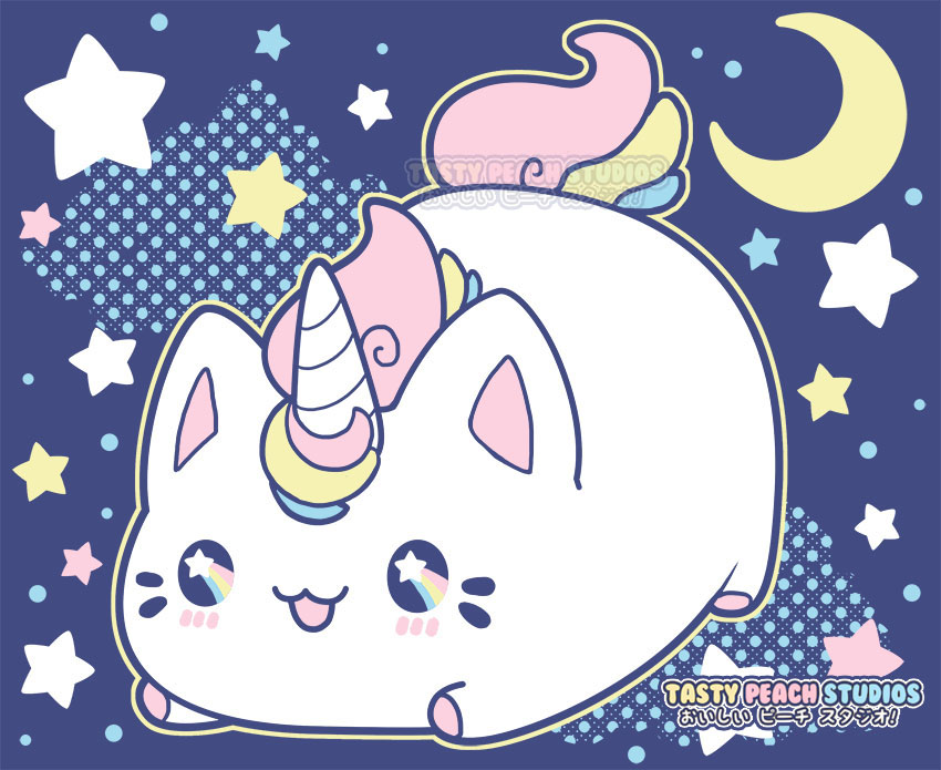 TPS Meowchi Mewnicorn Plush And Tee Design By