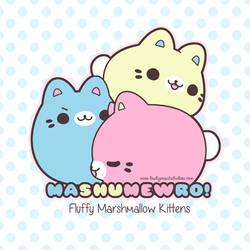 TPS: Mashumewro Marshmallow Kittens by MoogleGurl