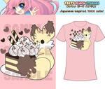 TPS: Kekitsu Fennec Cake Fox Tee