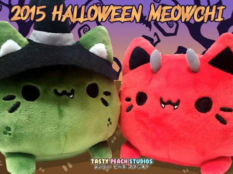 TPS: 2015 Halloween Meowchi Plush Variants