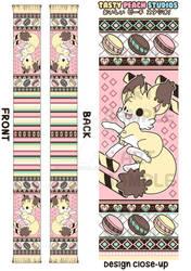 TPS: Kekitsu Cake Fennec Fox Scarf