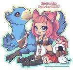FFXIV Character - Riss Sanoske