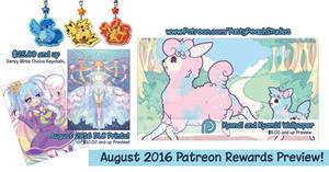 Patreon: August Reward Preview