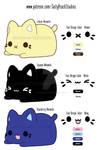 New Meowchi Plush Concepts