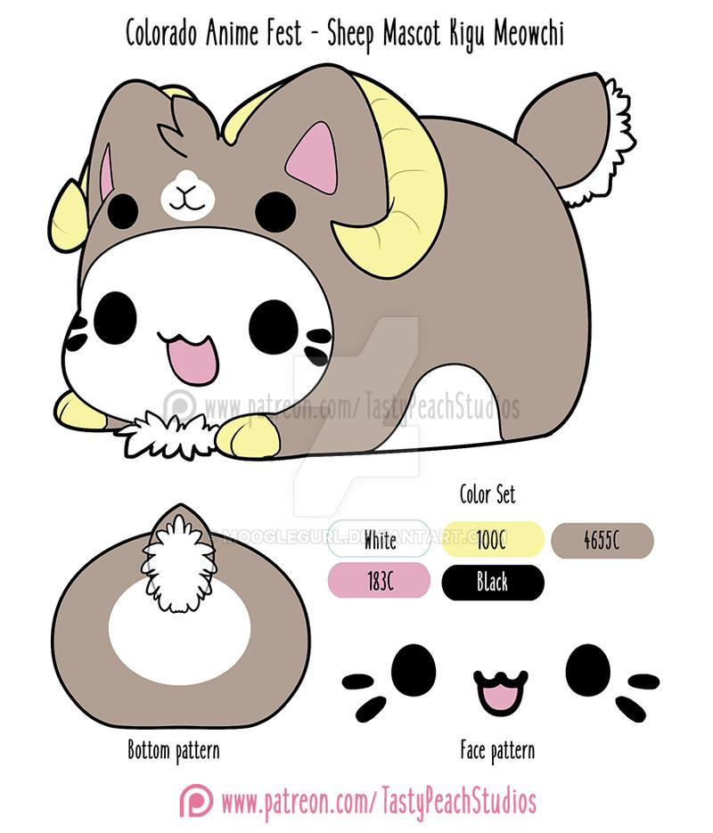 Colorado Anime Fest Meowchi Concept Design By MoogleGurl