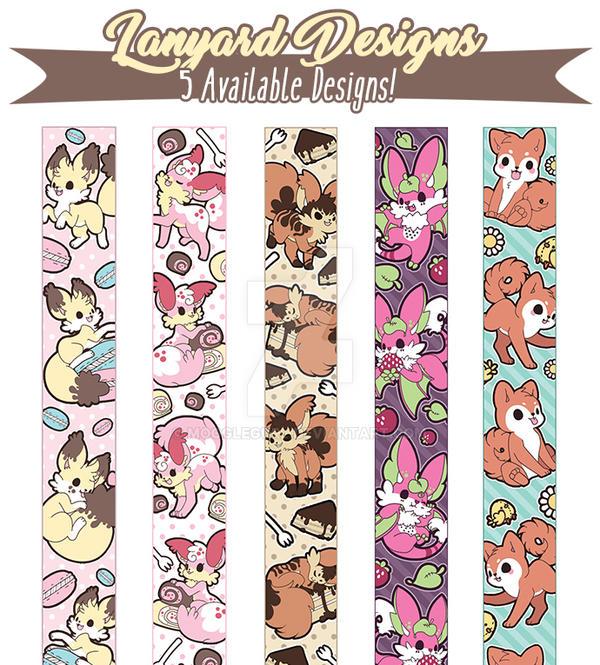 Kickstarter -  Lanyard Art by MoogleGurl
