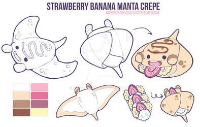 Manta Crepe Concept Design