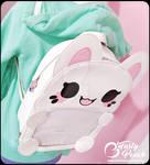 Meowchi Ita Bag Sample - Custard White