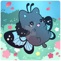 Happy Butterfly Meowchi