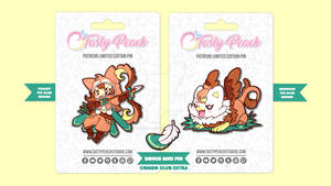 March 2021 Pin Club Items