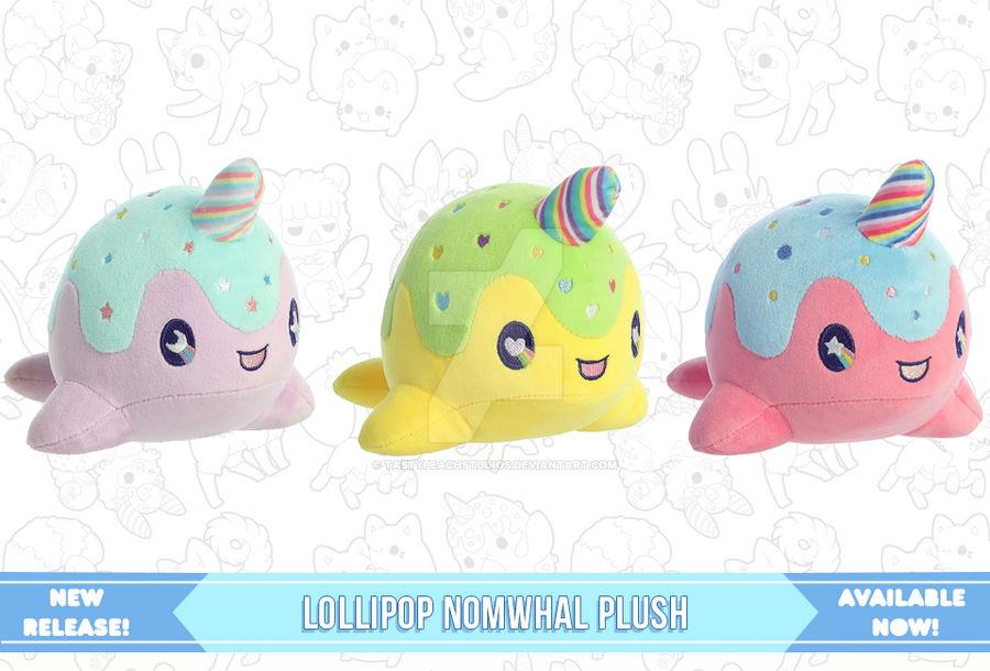 Lollipop Nomwhal Plush Release!