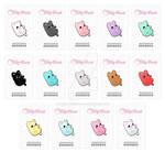 Meowchi Ita Bag Kickstarter Enamel Pins