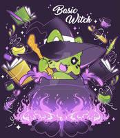 Basic Witch   Halloween Meowchi