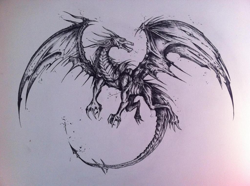 Random Dragon Design by JACKNORRIZ