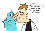 Perry kisses by CasFlores