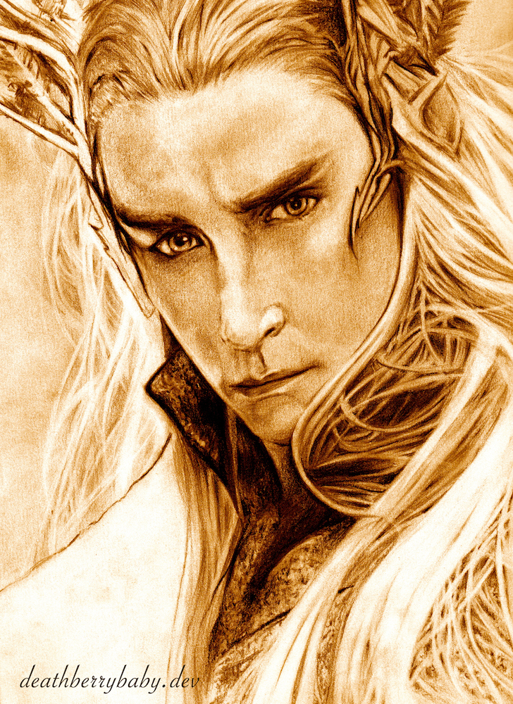 Thranduil by deathberrybaby