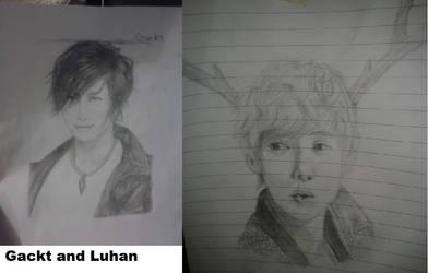 Gackt and Luhan