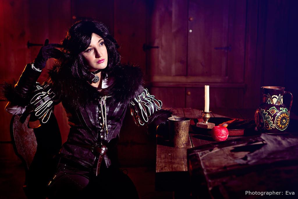 Witcher 3 - Yennefer's Portrait by ilona-lab