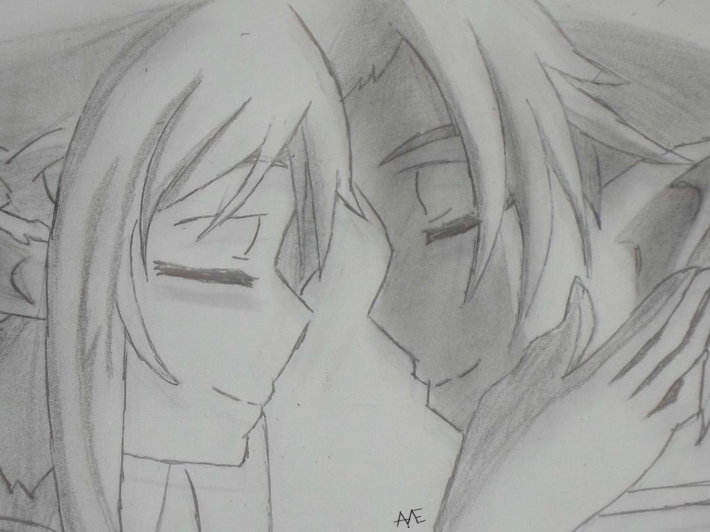 Asuna x Kirito :.:SAO:.: by LokaExpresivaxDD