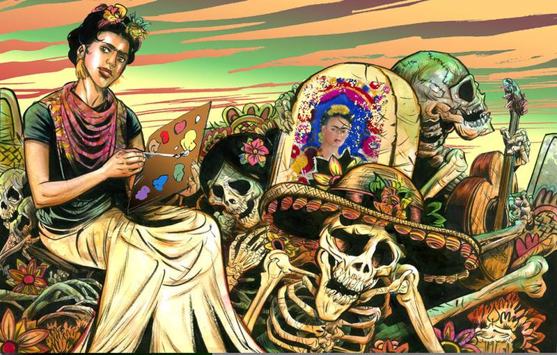 Frida Kahlo by funrama
