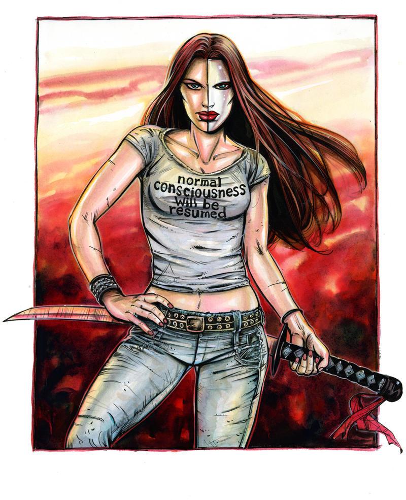 Lucifer Morningstar Dc Comics: Mazikeen (comics