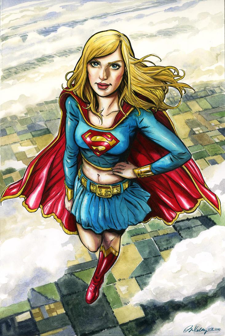 supergirl drawings comic - photo #23