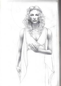 WIP Rhiannon, Celtic Goddess