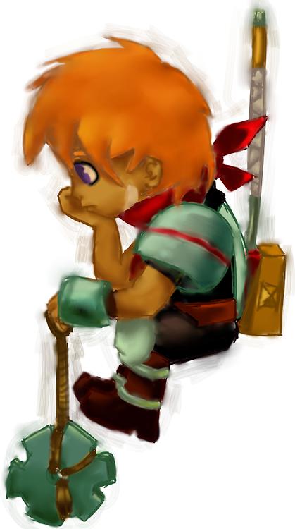 The Kid by MagatsuKite