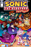 mmlj's Sonic IDW cover