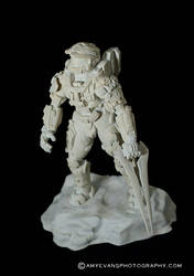 Halo 4 Master Chief Sculpt 5 with Video