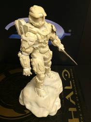 Halo 4 Master Chief Statue