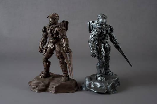 Halo 4 Master Chief Bronze And Silver