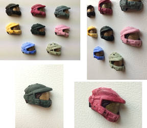 Master Chief Helmet Magnets