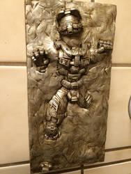 Master Chief in Carbonite