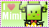 I Heart Mimi Stamp by MandiR
