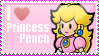 I Heart Peach Stamp 2 by MandiR